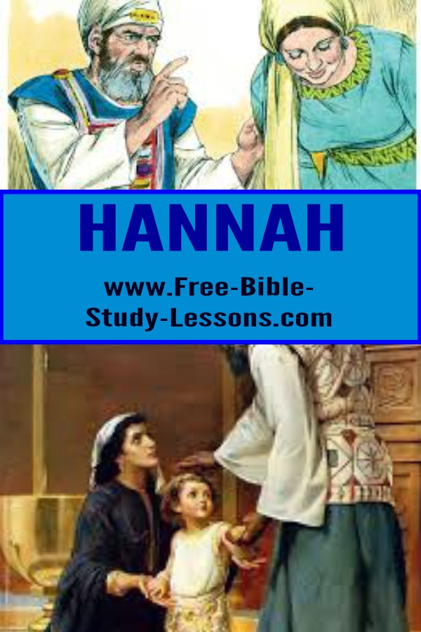 Hannah was a Godly woman who, through deep pain, would become the mother of one of Israel's most famous prophets and judges - Samuel.