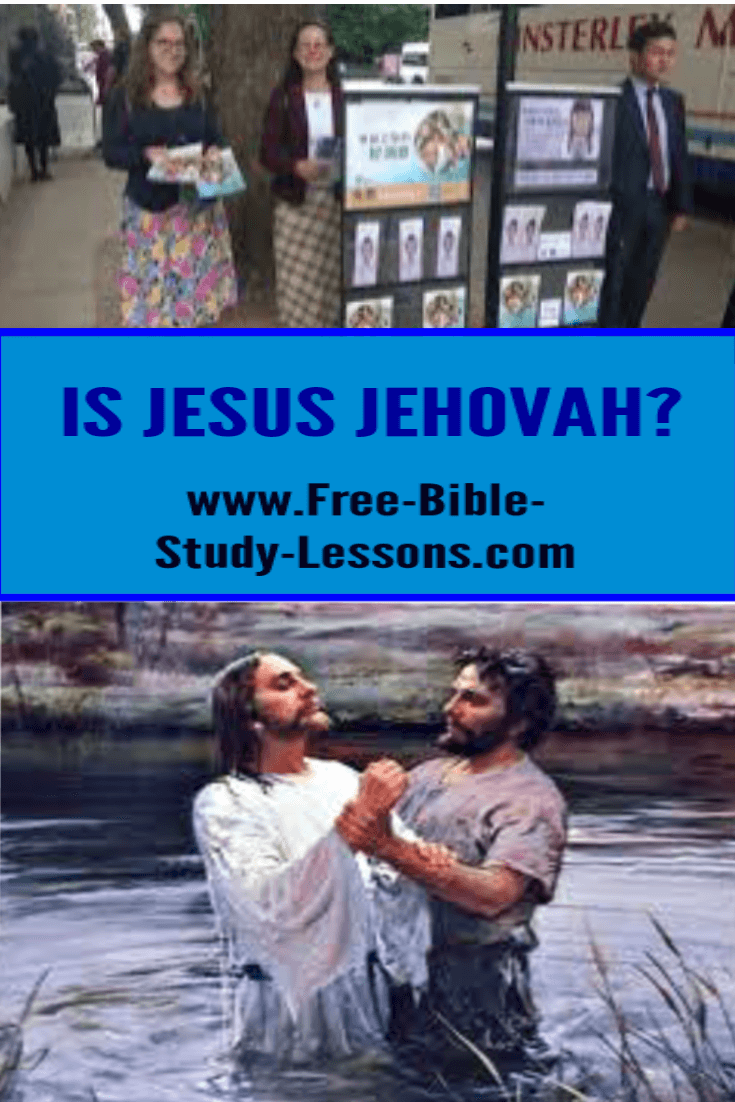 Some people and organizations claim that Jesus was just a man, what did Jesus say about Himself?