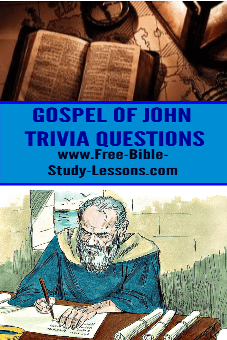 Challenge yourself or friends with our Gospel of John Treasure Hunt.