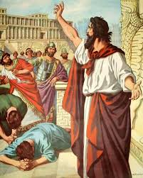 Jonah Preaching