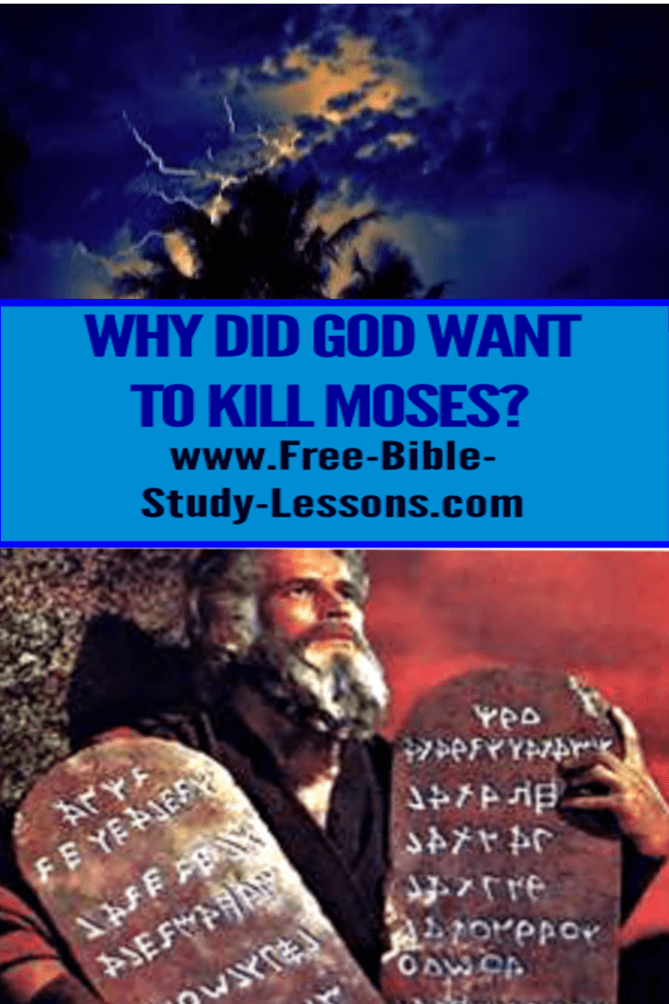 Why Did God Want To Kill Moses?