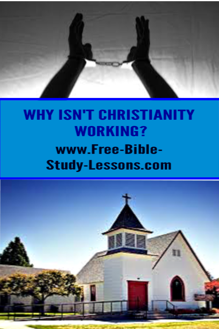 Why does Christianity seem to be a failure when it comes to many practical areas of life.  It is not that Christianity has been tried and found wanting, it hasn't really been tried!
