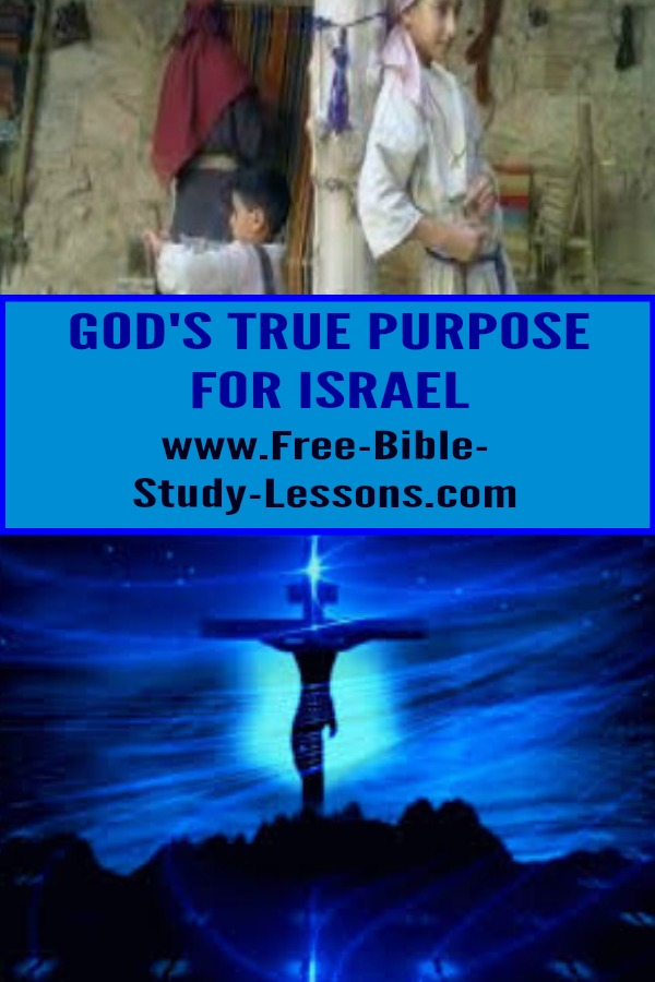 The purpose of Israel was to bring the Messiah into the world.  Is the current nation of Israel in Bible prophecy?