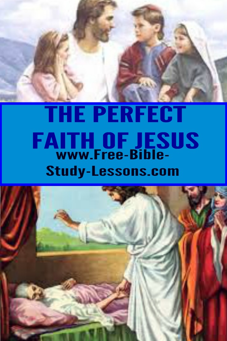 The perfect faith of Jesus in the testimony of the Father and the Holy Spirit allowed Him to know He was the Son of God and do the works He did. #Jesus #messiah #faith #christianlife