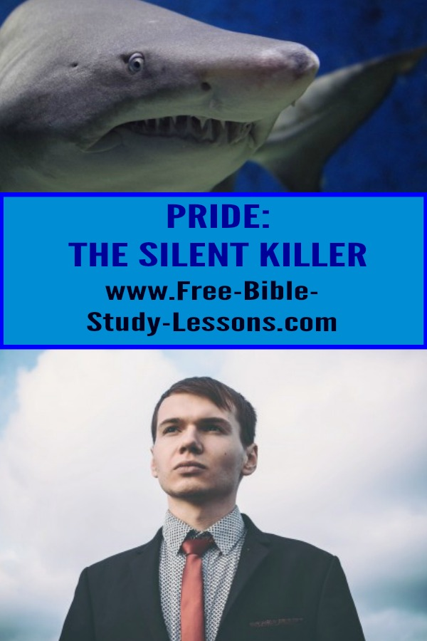 Pride, the silent killer, rears its ugly head in our lives from time to time. It is easy to think that we are good or, at least, better than some. #pride #christianty #christianlife #family