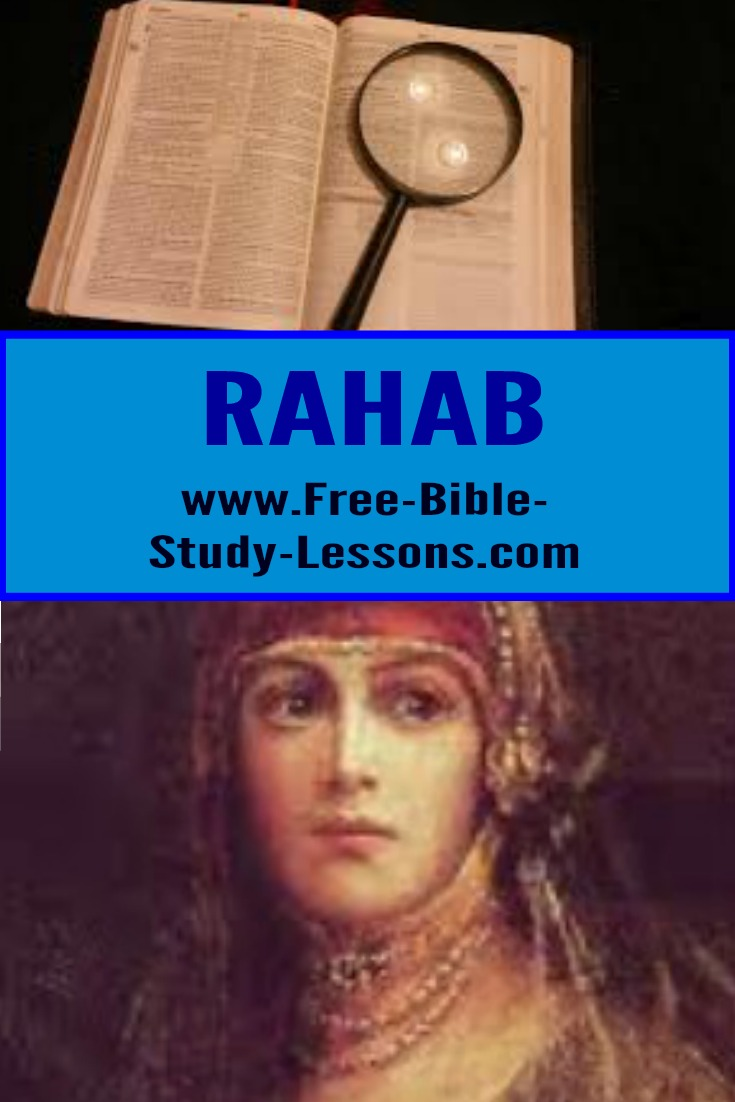Rahab is one of only two women mentioned by name in the Heroes Of Faith Chapter [ Heb. 11].
