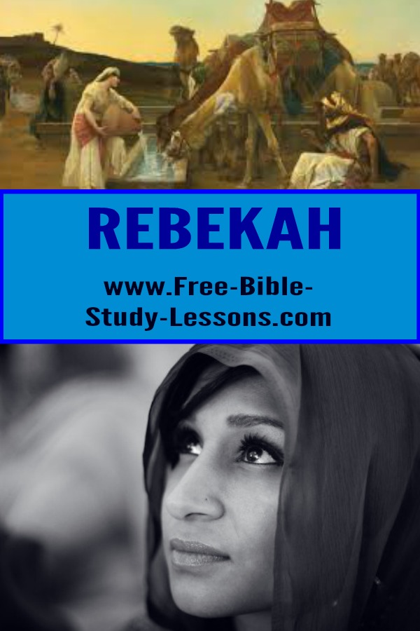 Rebekah was lively girl ready for adventure and became a type of the Church in her being won for Isaac who was a type of Christ in that story.    #rebekah #biblicalwomen #family #oldtestament