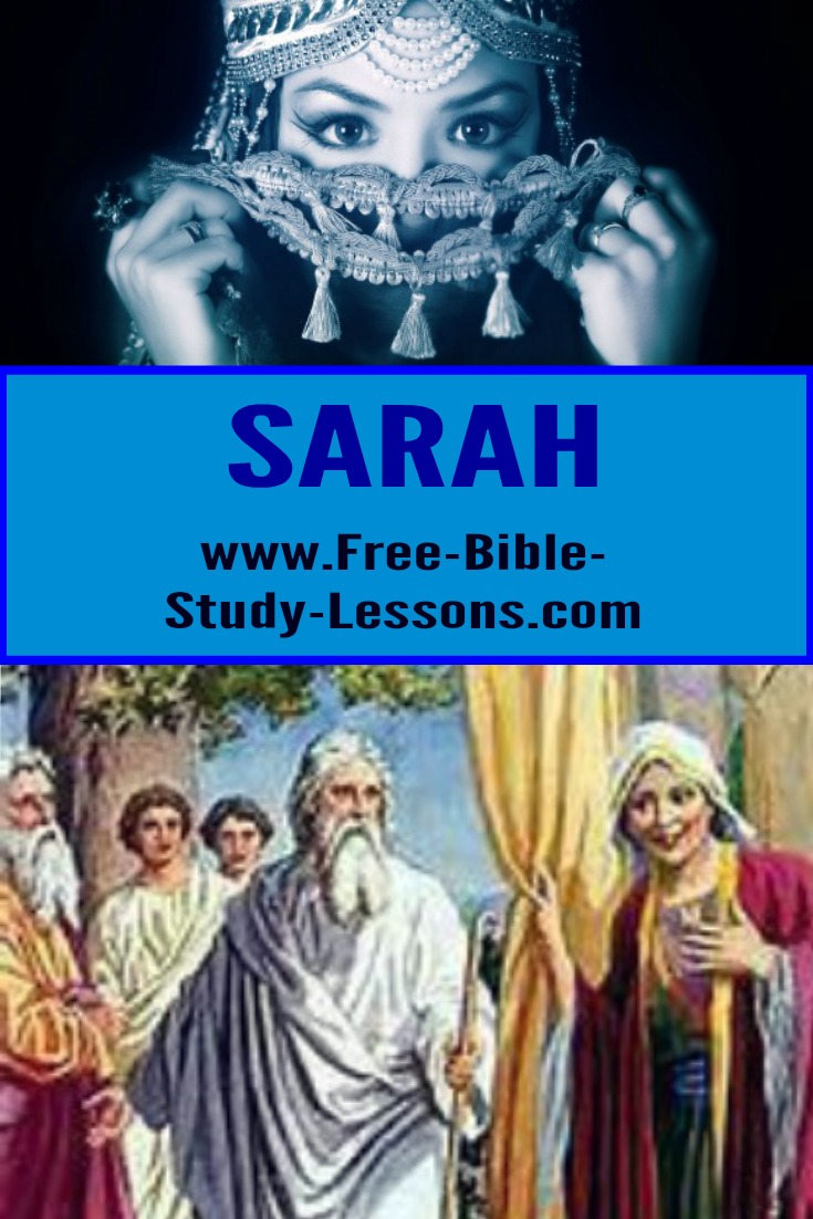 Sarah, Abraham's wife, may have lived in luxury, but she would have traded it all for a child.    #sarah #biblicalwomen #family #marriage