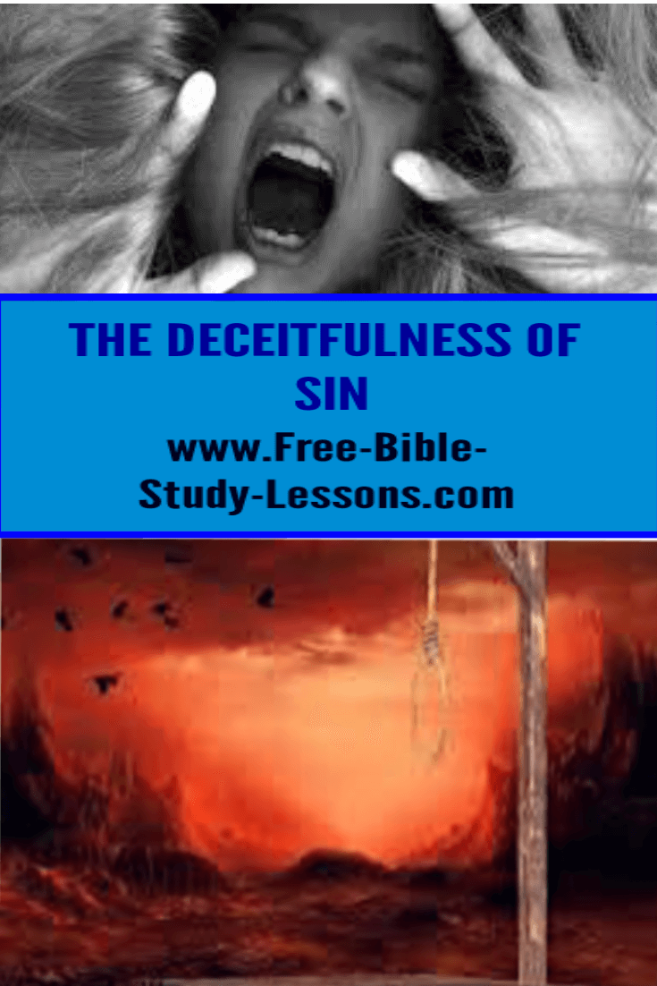 It takes the Light of God's Word to expose the deceitfulness of sin.