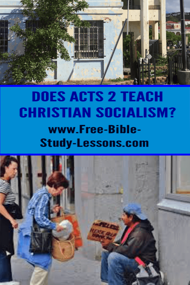 Does the Bible teach Christian Socialism?