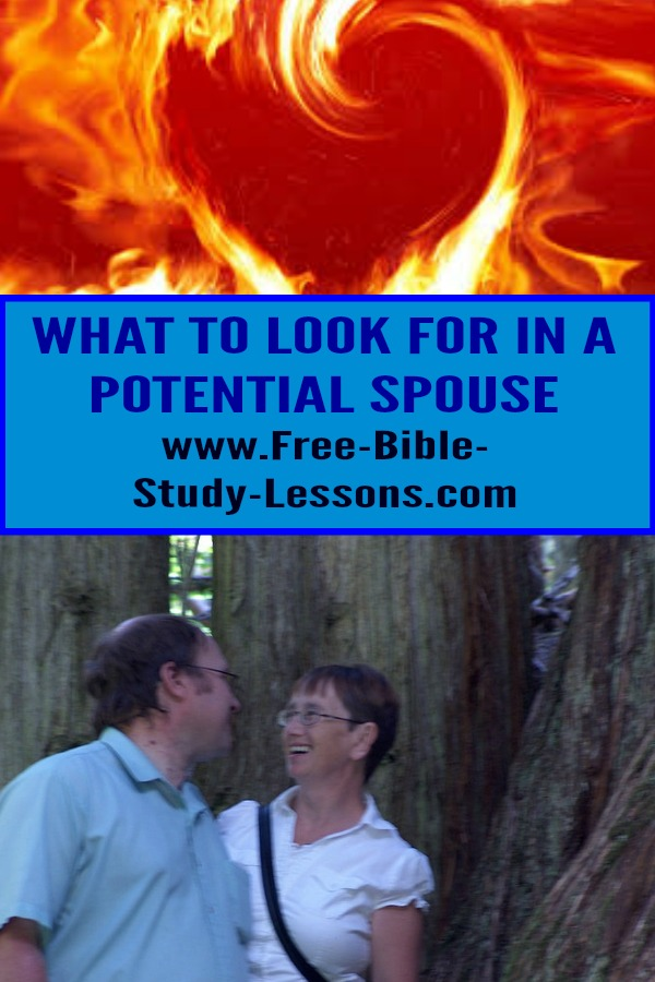 What should a Christian person be looking for in a potential spouse and life-long partner?  How can we find that person to build a life with?