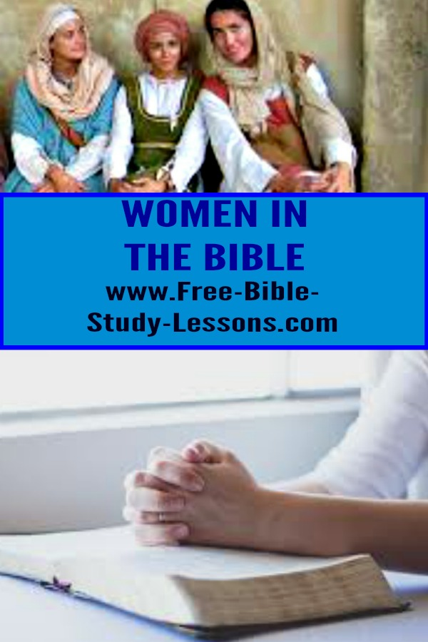 Briefly mentioned women in the Scriptures are important, too.  Look at these lessons we can learn from their lives.  #womeninthebible #womenbible #christianwomen #ladiesbiblestudy