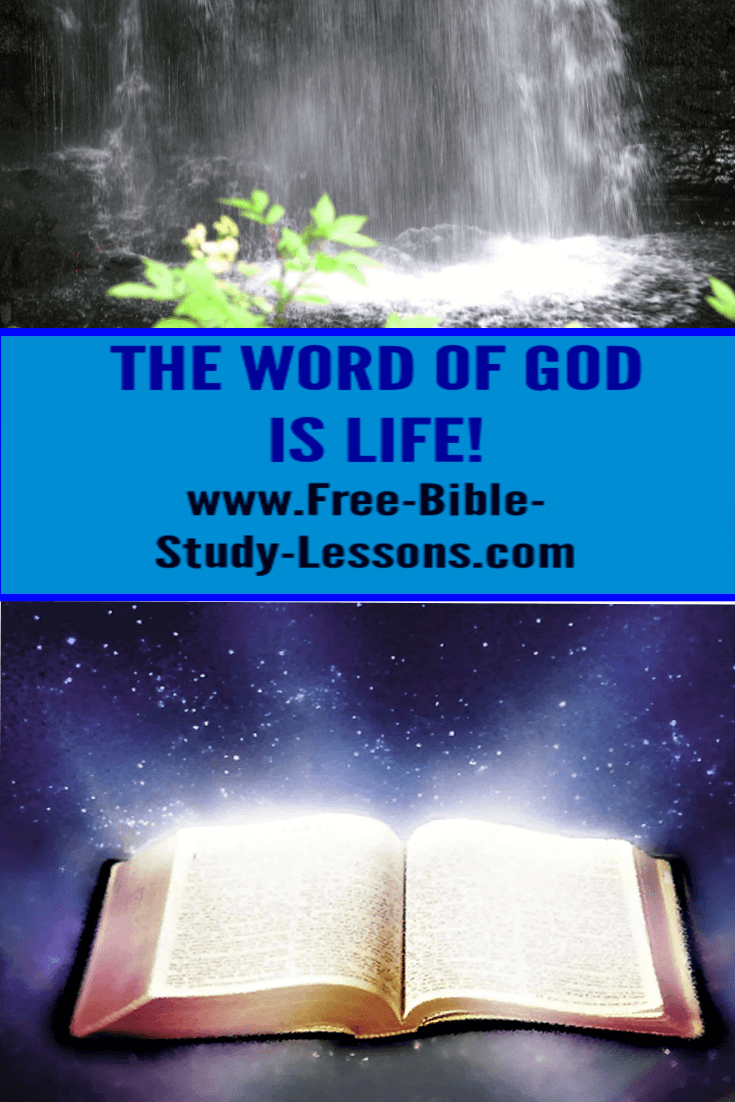 The Word of God is vital to growing to maturity in the Christian life and in relationship with Jesus Christ.