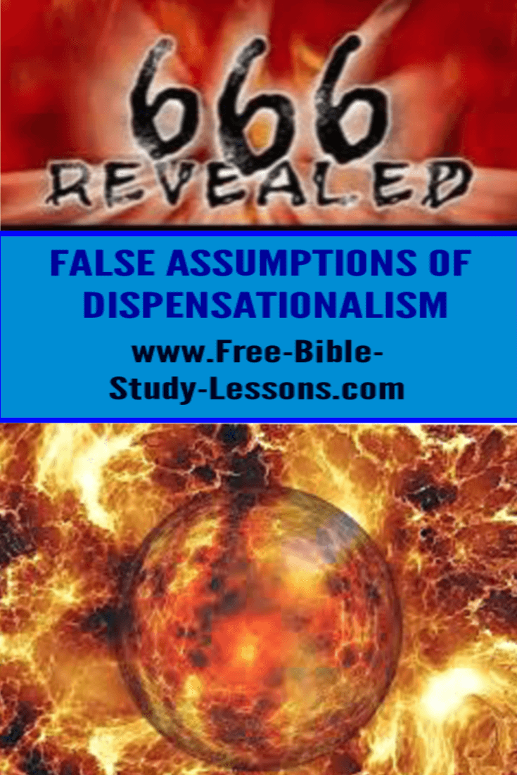 Dispensationalism is not based on Scripture in context but on false assumptions which distract God's people from their real purpose in this world.