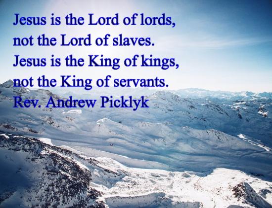 King of kings - andrew picklyk