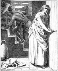 Rahab helping spies