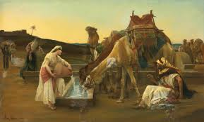 Rebekah and the camels